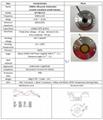 500KHz Ultrasonic Underwater acoustic transducer (small volume)
