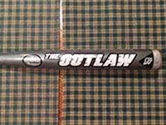 LOUISVILLE SLUGGER TPS OUTLAW POWERDOME SB1 C405 PLUS 28 oz. MUSH BALL HOT