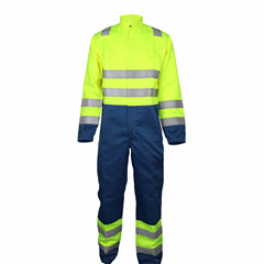 Hot 1000 Degree Aluminized Fire Resistant Fire Fighting Suit