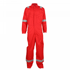 Fire Resistant Coverall Workwear Made of FR Fabric