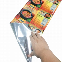 Hot selling normal clear soft PVC laminated plastic automatic packaging roll alu