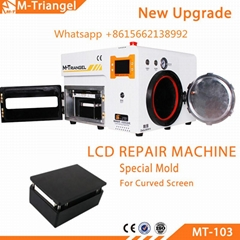 Original M-Triangel Brand vacuum laminating lcd repair machine for iPhone glass