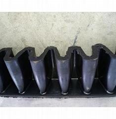 Steep Angle Sidewall Conveyor Belt