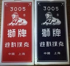 3005 狮牌扑克