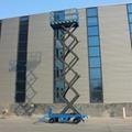 hydraulic rising platform