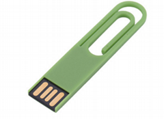 Paper clip USB flash drive