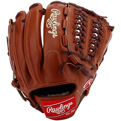 "Rawlings Pro Preferred PROS12BRU 12"" Baseball Glove  1"