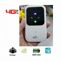 4G LTE 150Mbps Mobile Wifi Router Mifi Wireless Modem with LED Screen