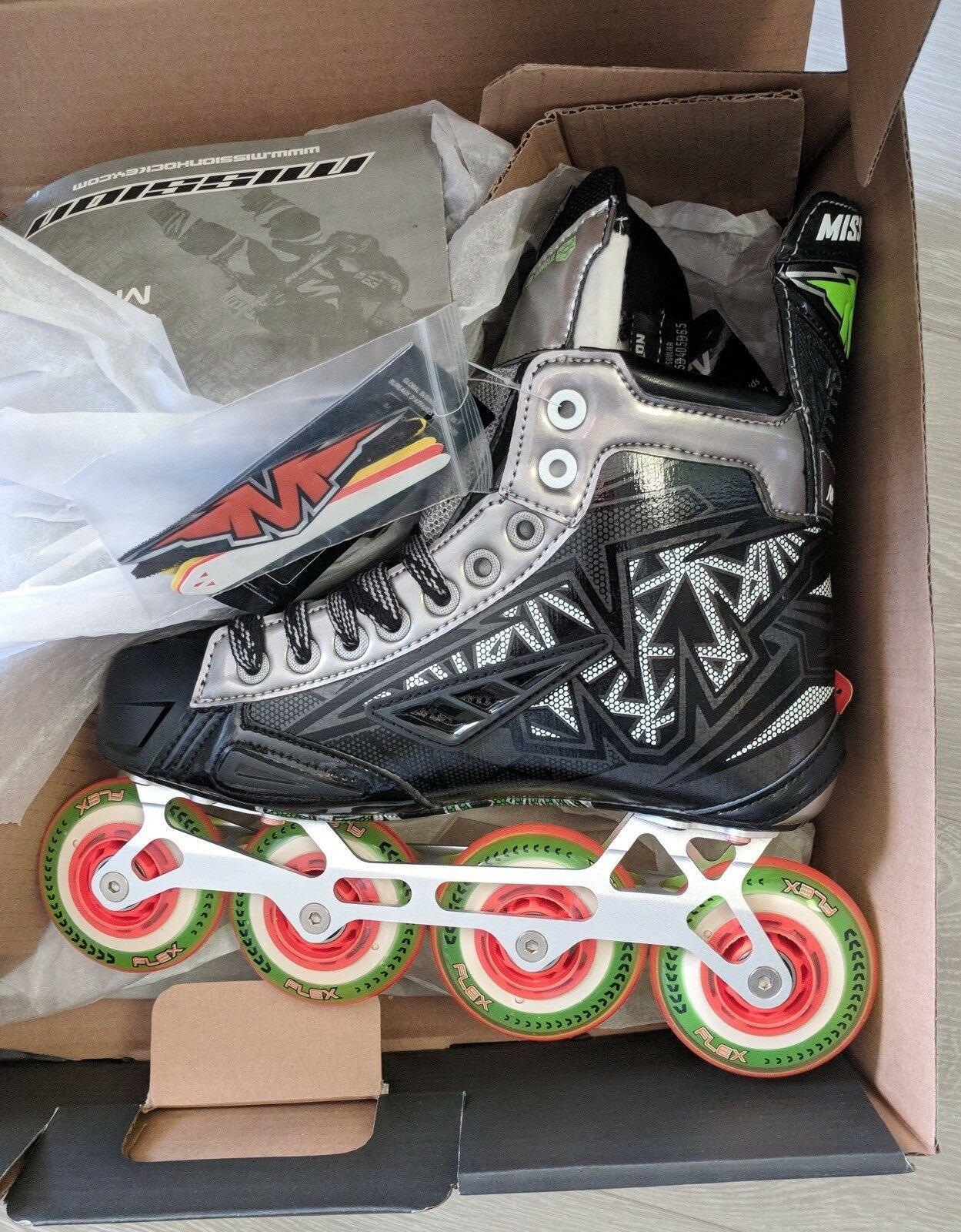 Mission INHALER NLS:03 Senior  Inline Hockey Skates