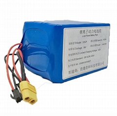 Dyu Electric Bike Battery Pack 36V4.4ah 6ah 10.4ah With BMS