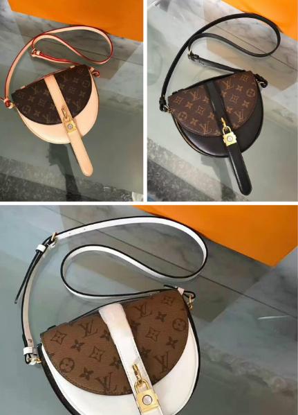 LV bag fashion louis vuitton shoulder bag lv messager bag lady lv purse Monogram 4