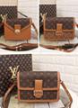 LV bag fashion louis vuitton shoulder bag lv messager bag lady lv purse Monogram 1