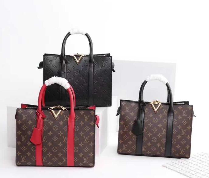 LV bag fashion louis vuitton shoulder bag lv messager bag lady lv purse Monogram 9