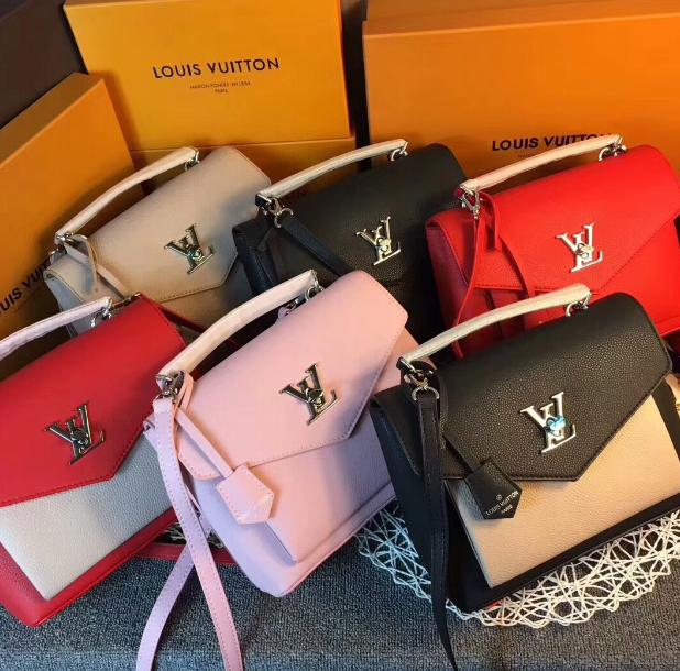 LV bag fashion louis vuitton shoulder bag lv messager bag lady lv purse Monogram 10