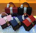 LV bag fashion louis vuitton shoulder bag lv messager bag lady lv purse Monogram 11