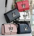 LV bag fashion louis vuitton shoulder bag lv messager bag lady lv purse Monogram 16