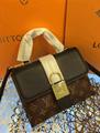 LV bag fashion louis vuitton shoulder bag lv messager bag lady lv purse Monogram 19