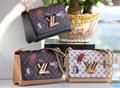 LV bag fashion louis vuitton shoulder bag lv messager bag lady lv purse Monogram 20