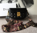 Dior Oblique Saddle bag Dior lady lambskin bag diorama shoulder bag