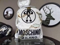 Moschino backpack Cigarette Burn White women fashion handbag Moschino bag