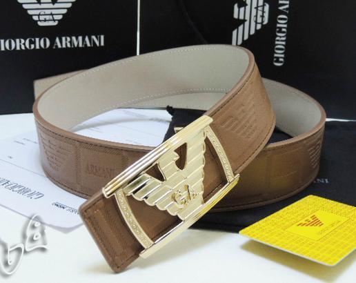 GIORGIO ARMANI REVERSIBLE LEATHER BELT armani belt REVERSIBLE LEATH man strap   5