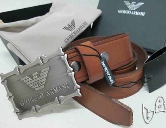 GIORGIO ARMANI REVERSIBLE LEATHER BELT armani belt REVERSIBLE LEATH man strap   7