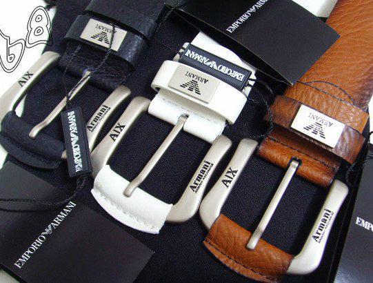 GIORGIO ARMANI REVERSIBLE LEATHER BELT armani belt REVERSIBLE LEATH man strap   10