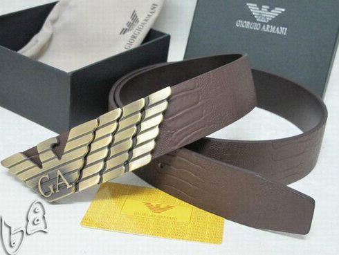 GIORGIO ARMANI REVERSIBLE LEATHER BELT armani belt REVERSIBLE LEATH man strap   12
