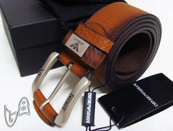 GIORGIO ARMANI REVERSIBLE LEATHER BELT armani belt REVERSIBLE LEATH man strap   19