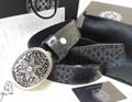 Chrome Hearts belt real leather strap Chrome Hearts man fashion leather girdle  7