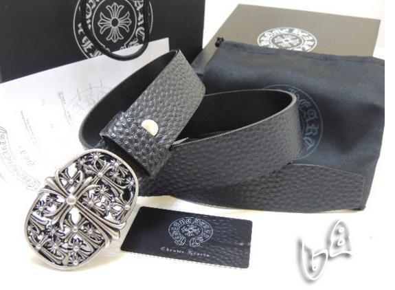 Chrome Hearts belt real leather strap Chrome Hearts man fashion leather girdle  8