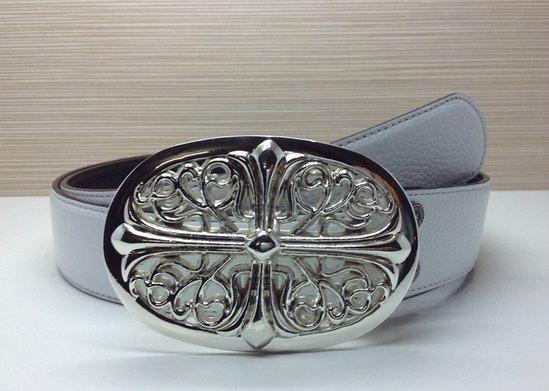 Chrome Hearts belt real leather strap Chrome Hearts man fashion leather girdle  13