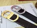 Ferragamo belt Double Gancini Buckle Belt Gift Box man Gancio adjustable strap