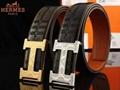 Hermès Togo calfskin leather hermes belt