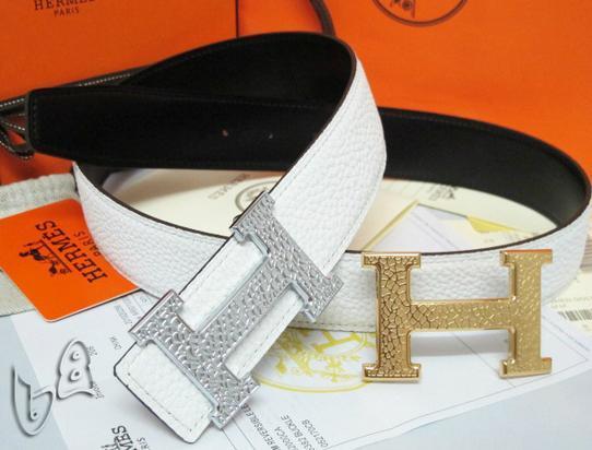 Hermès Togo calfskin leather hermes belt fashion H buckle man hermes strap 6