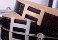 Hermès Togo calfskin leather hermes belt fashion H buckle man hermes strap 7