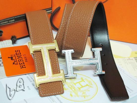 Hermès Togo calfskin leather hermes belt fashion H buckle man hermes strap 9