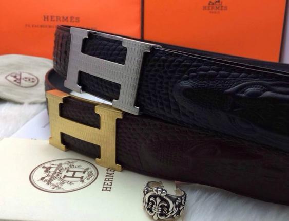 Hermès Togo calfskin leather hermes belt fashion H buckle man hermes strap 14