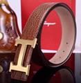 Hermès Togo calfskin leather hermes belt fashion H buckle man hermes strap 16