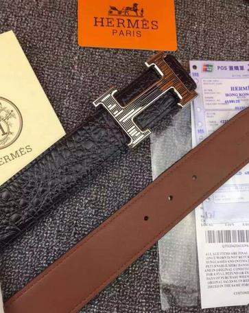 Hermès Togo calfskin leather hermes belt fashion H buckle man hermes strap 17