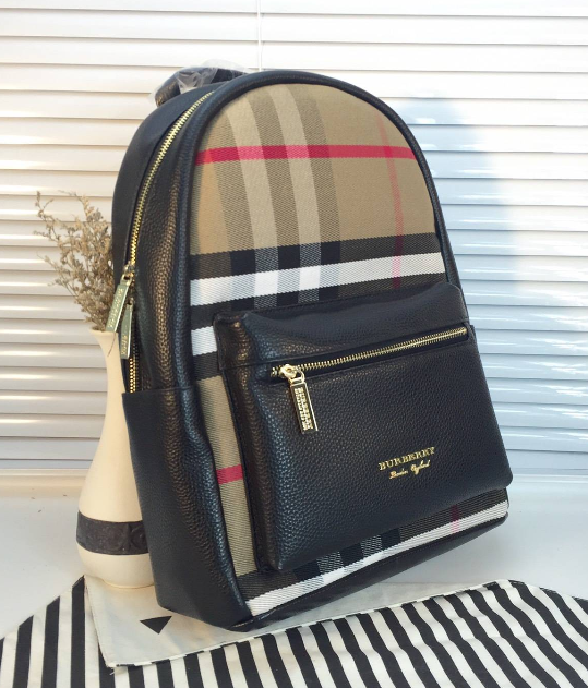 Burberry bag backpack duffle Leather Briefcase burberry Leather Crossbody 15