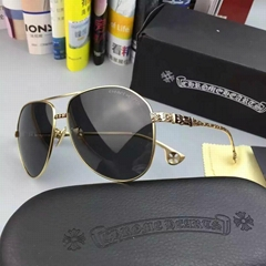 Chrome Hearts galsses luxury man sun lenses Chrome Hearts frame with package
