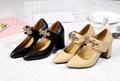 Prada shoes lady fashion high heel