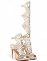 Giuseppe Zanotti shoes woman high heel GZ sandals leather flattie pumps sneaker