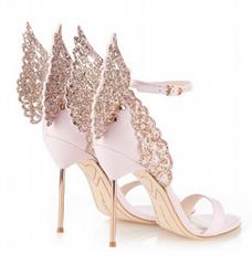 Sophia Webs shoes woman tote high heel sandals leather Sophia Webste pumps NEW