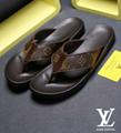 LV slipper men sandals LV SUPPER ME loafer fashion footwear with lv box