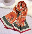 Hermes scarf woman shawl hermes muffler neckerchief christmas gift box     3