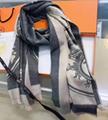 Hermes scarf woman shawl hermes muffler neckerchief christmas gift box     18