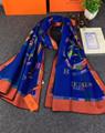 Hermes scarf woman shawl hermes muffler neckerchief christmas gift box     19
