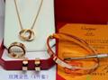 Cartier LOVE bracelet DIAMOD Panthère de cartier bangle earring neacklace box